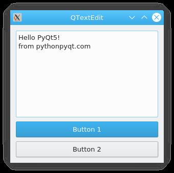 文本框示例qtextbox